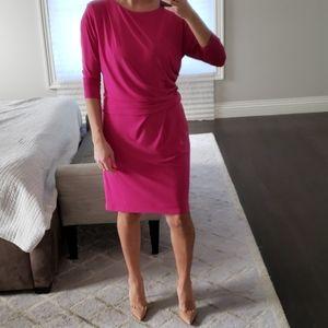 NWT WOMEN'S DONNA MORGAN HOT PINK/PURPLE DRESS
